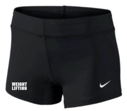 Nike Women's Weightlifting Performance Game Short - Black/White