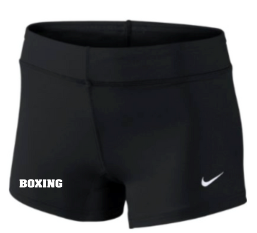 Nike Women's Boxing Performance Game Short - Black/White