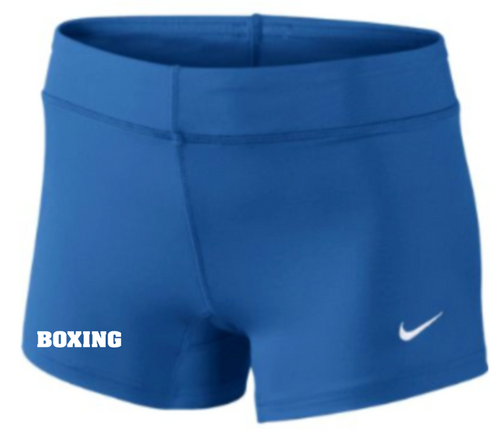 Nike Women's Boxing Performance Game Short - Royal/White