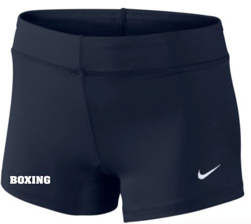 Nike Women's Boxing Performance Game Short - Navy/White