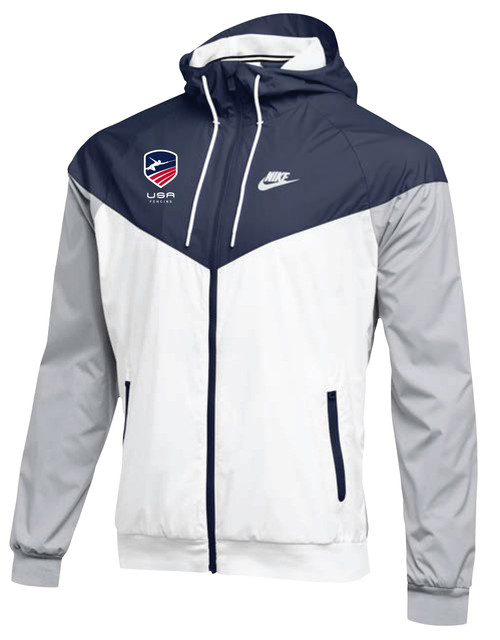 Nike Men's USAF Windrunner Jacket - White/Navy