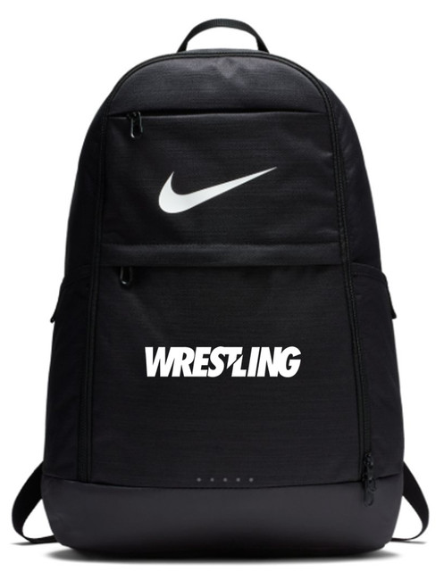 Nike Wrestling Brasilia Backpack - Black/White