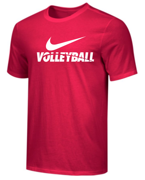 Nike Men's Volleyball Tee - Red