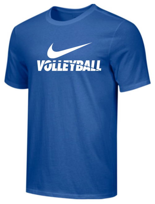 Nike Men's Volleyball Tee - Royal