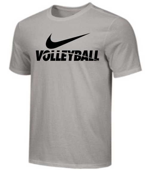 Nike Men's Volleyball Tee - Grey