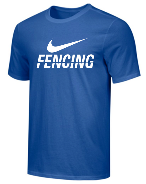 Nike Men's Fencing Tee - Royal