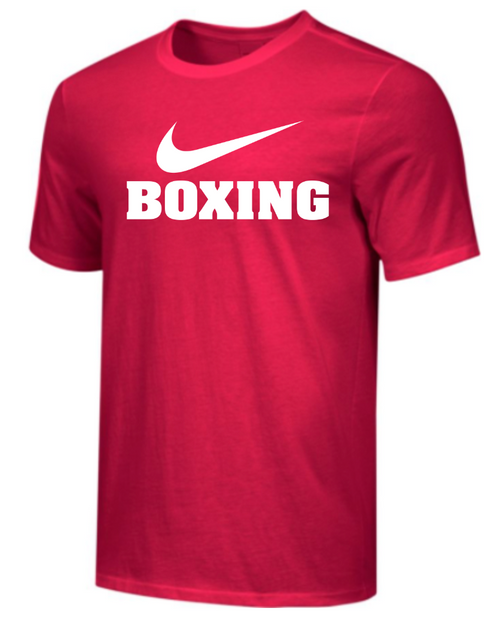 Nike Men's Boxing Tee - Red