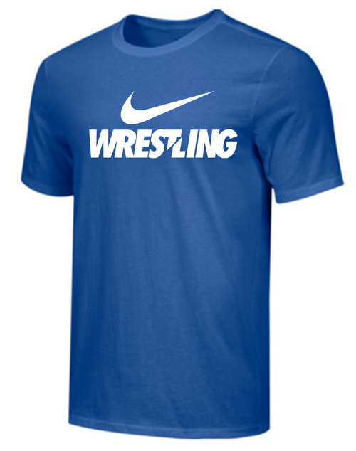 Nike Men's Wrestling Tee - Royal