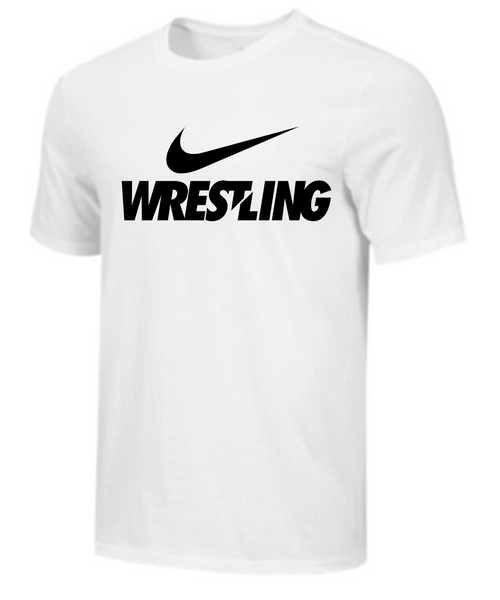 Nike Men's Wrestling Tee - White