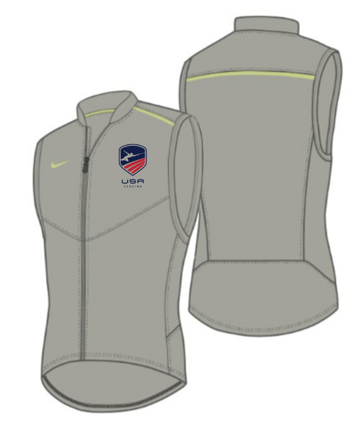 Nike Men's USAF Performance Vest - Pewter