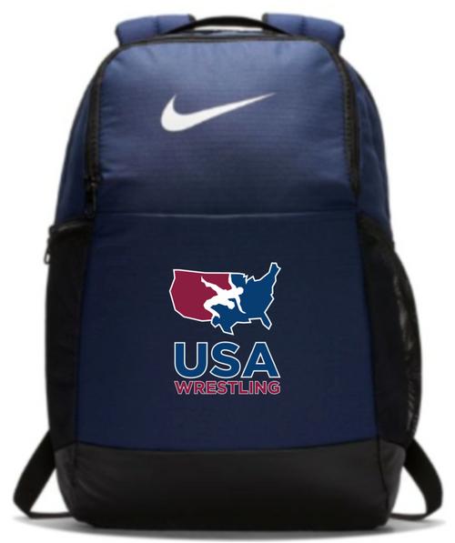 Nike USAWR Brasilia Backpack - Navy