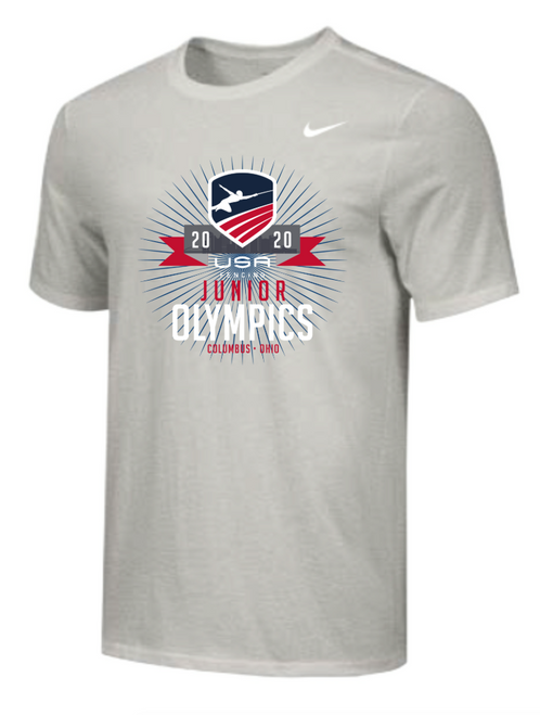 Nike Men's USAF Junior Olympics Tee - Grey