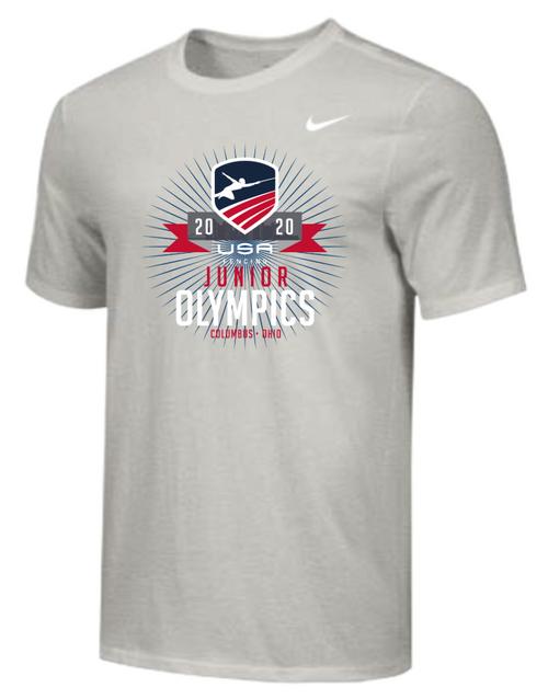 Nike Youth USAF Junior Olympics Tee - Grey