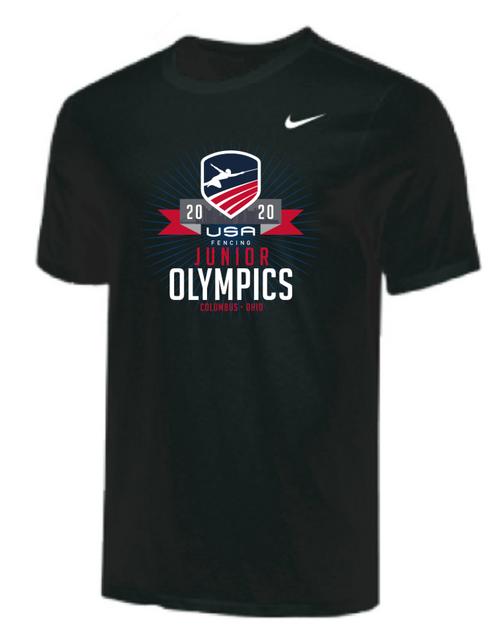 Nike Youth USAF Junior Olympics Tee - Black