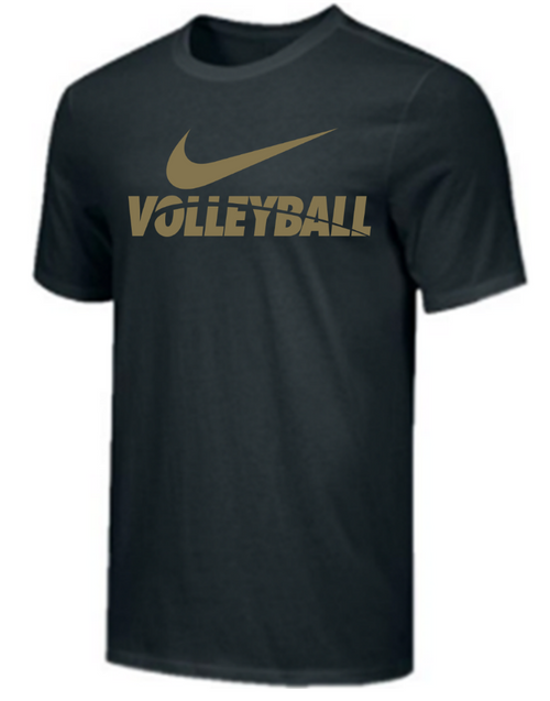 Nike Men's Volleyball Tee - Black/Gold