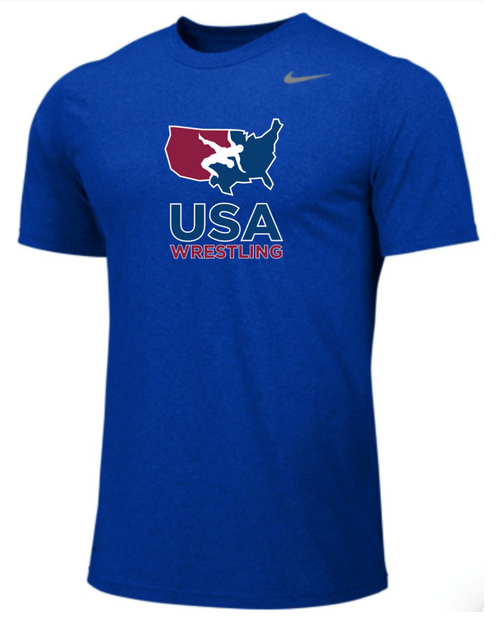 Nike Youth USAWR Team Legend SS Crew  - Royal