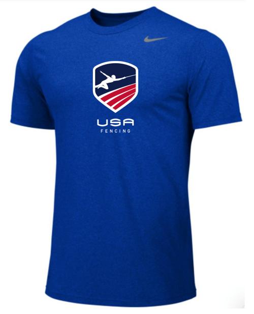 Nike Youth USAF Team Legend SS Crew  - Royal