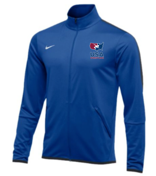 Nike Men's USAWR Epic Jacket - Royal/Anthracite