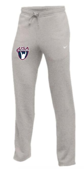 Nike Youth USAW Club Fleece Pant - Heather Grey