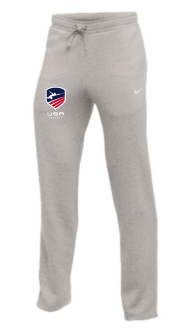 Nike Youth USAF Club Fleece Pant - Heather Grey
