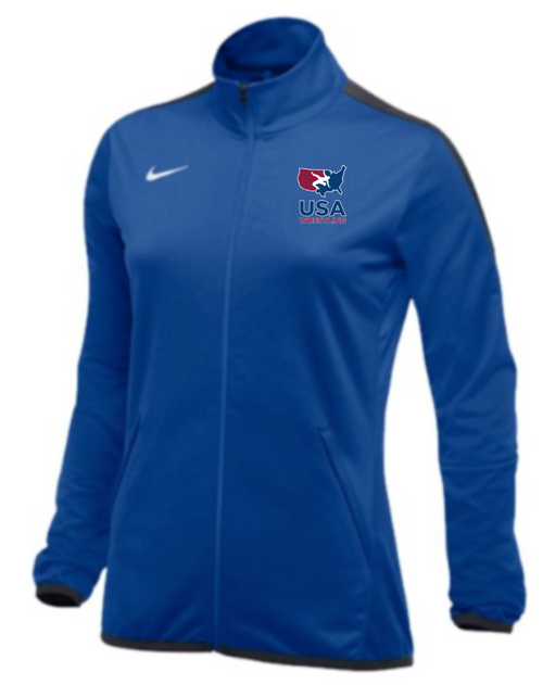 Nike Women's USAWR Epic Jacket - Royal/Anthracite