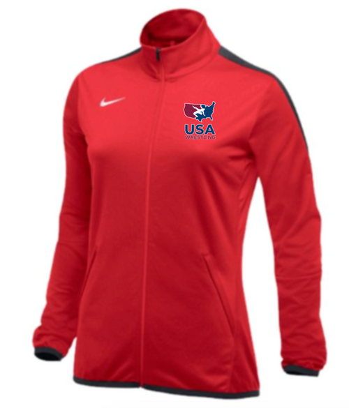 Nike Women's USAWR Epic Jacket - Scarlet/Anthracite