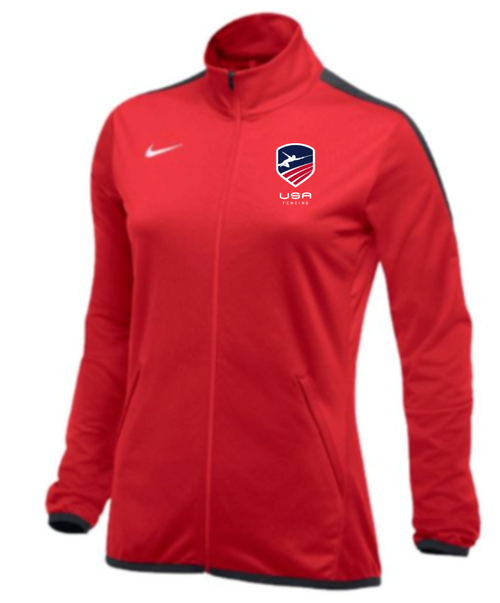 Nike Women's USAF Epic Jacket - Scarlet/Anthracite