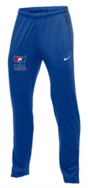 Nike Men's USAWR Epic Pant - Royal/Anthracite