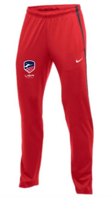 Nike Men's USAF Epic Pant - Scarlet/Anthracite