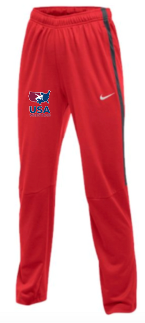 Nike Women's USAWR Epic Pant - Scarlet/Anthracite