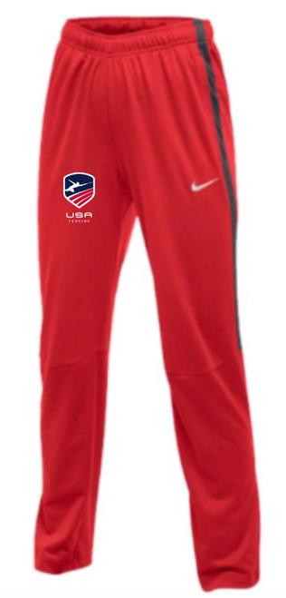 Nike Women's USAF Epic Pant - Scarlet/Anthracite