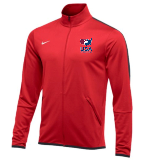 Nike Men's USAWR Epic Jacket -Scarlet/Anthracite
