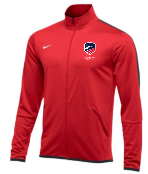 Nike Men's USAF Epic Jacket -Scarlet/Anthracite