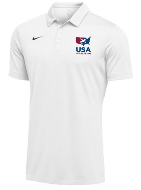 Nike Men's USAWR SS Polo - White