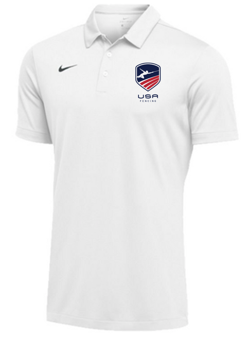Nike Men's USAF SS Polo - White