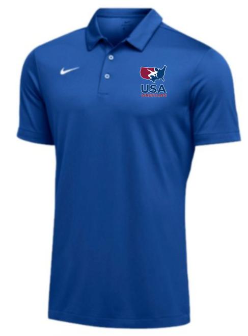 Nike Men's USAWR SS Polo - Royal