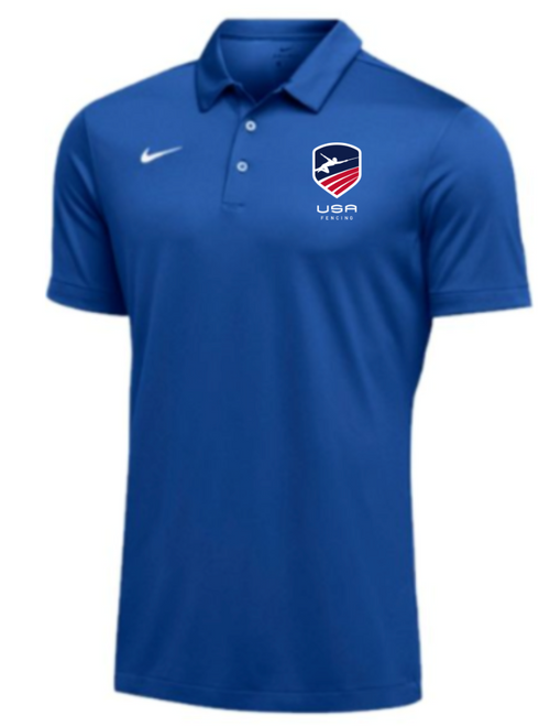 Nike Men's USAF SS Polo - Royal