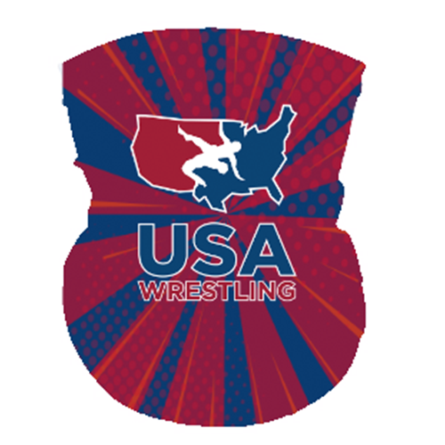 USAWR Neck Gaiter - Red/White/Blue
