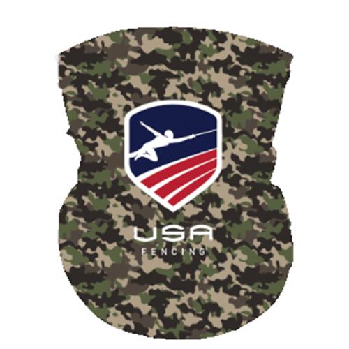 USAF Neck Gaiter -  Dark Camo