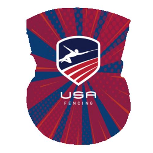 USAF Neck Gaiter -  Red/White/Blue