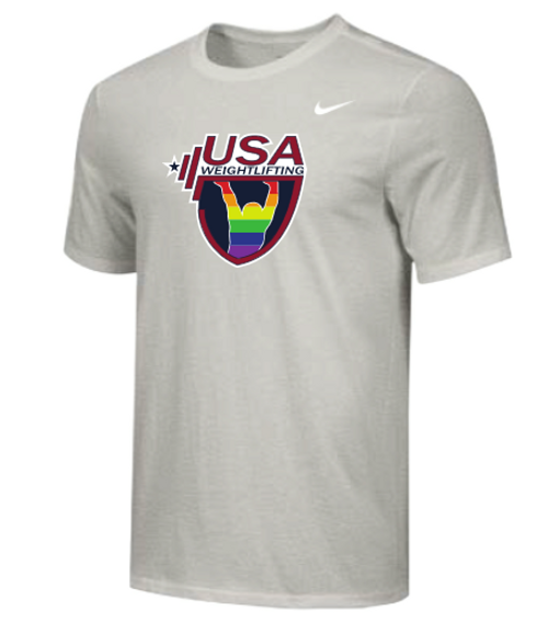 Nike Men's USAW Pride Tee - Grey