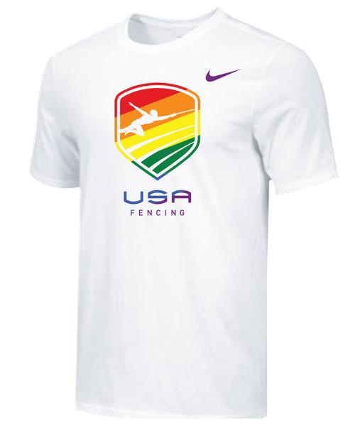 Nike Men's USAF Pride Tee - White