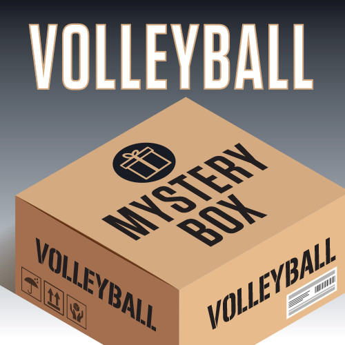 Men's Volleyball 3-Piece Tee Mystery Box - Multi Color