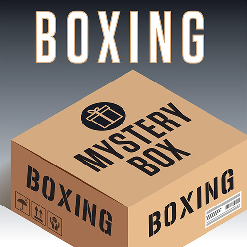 Men's Boxing 3-Piece Tee Mystery Box - Multi Color
