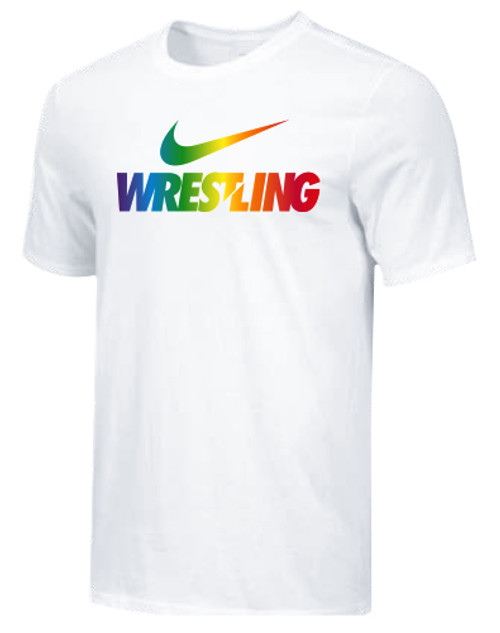Nike Men's Wrestling Pride Tee - White