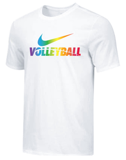 Nike Men's Volleyball Pride Tee - White