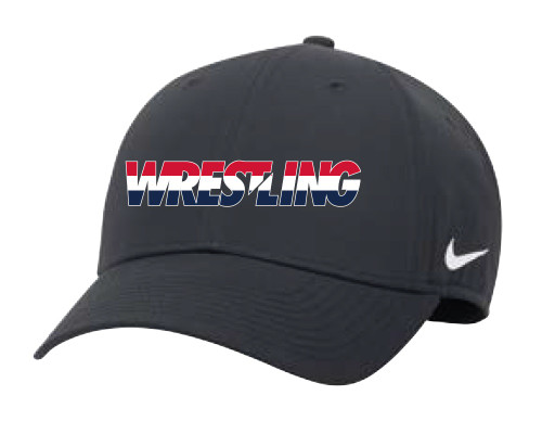 Nike Wrestling Campus Cap - Grey/White/Red