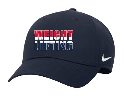 Nike Weightlifting Campus Cap - Navy/Red/White