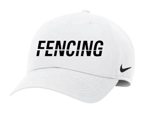 Nike Fencing L91 Adjustable Cap - White/Black