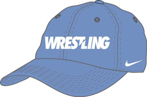 Nike Wrestling Campus Cap - Valor Blue/White
